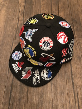 Rakuten Sportszone別注 NBA All Logo NEWERA