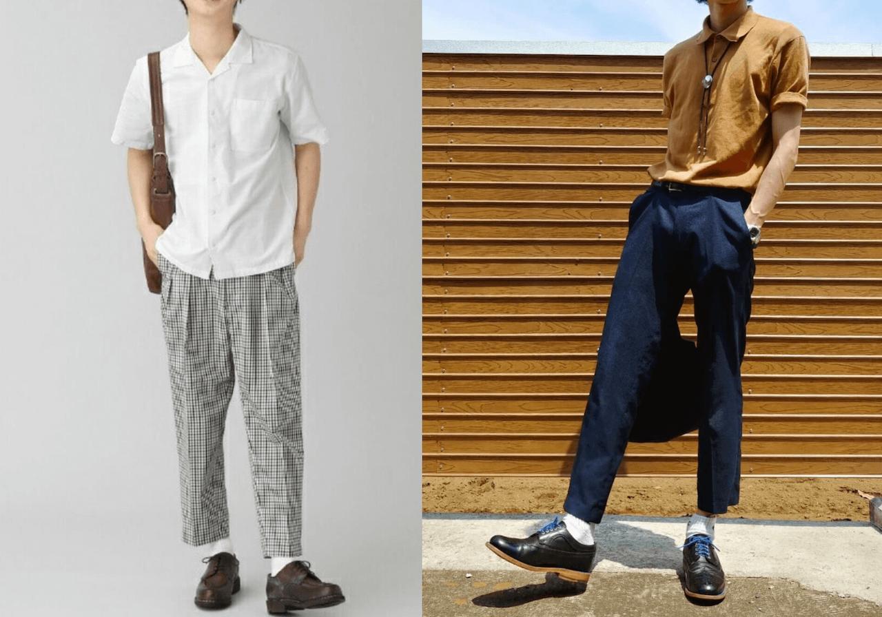 クールビズのメンズコーデとシャツや靴・スラックスなどのアイテムを紹介!