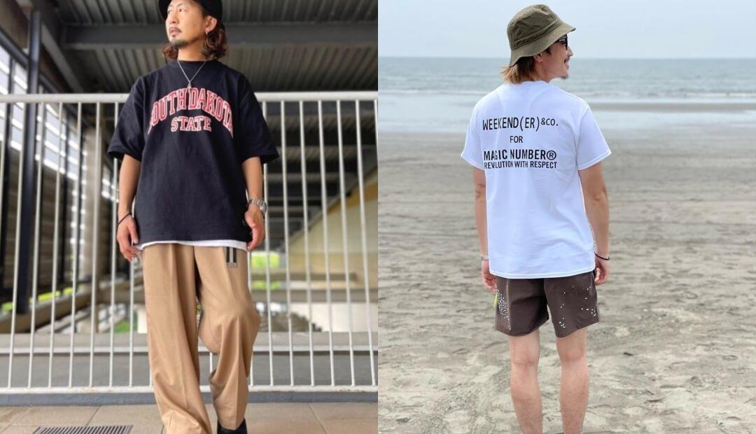 ロゴTシャツのおしゃれな着こなし方(メンズ編)!ロゴTシャツと合うアイテムを紹介!