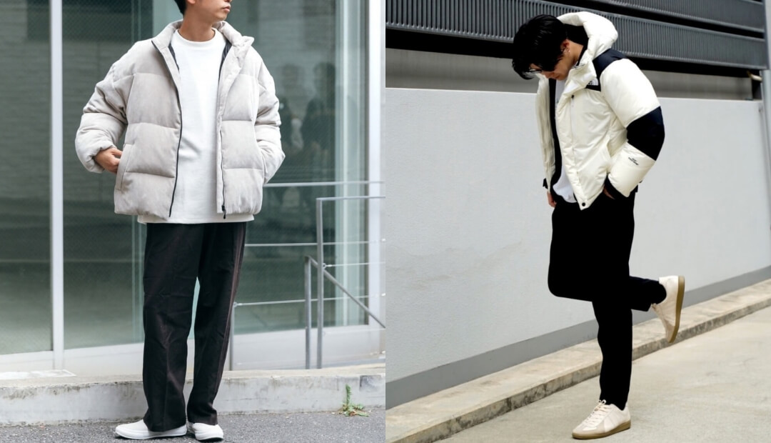 ダウン(白)のコーデ!メンズに人気の白のダウンジャケットを紹介!