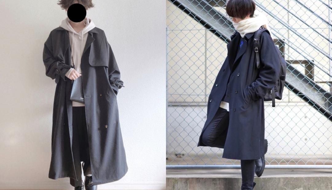 トレンチコート(黒)のメンズの着こなし方!おすすめのトレンチコートを紹介!