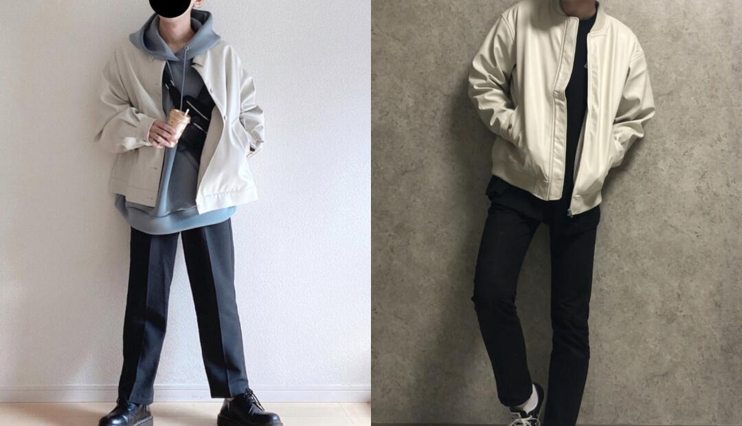 レザージャケット(白)のメンズの着こなし方!おすすめのレザージャケットを紹介!